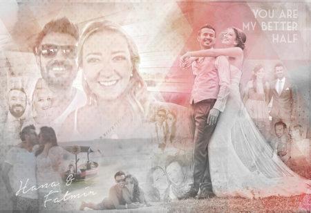 Hochzeits Collage